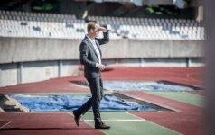 UEFA atstovas Benas Veenbrinkas S. Dariaus ir S. Girėno stadione