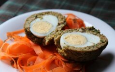 Škotiški kiaušiniai su vištiena