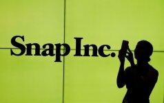 """""""Snap"""" akcijos šoko į viršų, kompanijai pagaliau sulaukus teigiamų įvertinimų"""