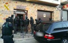 Ispanijos VRM parodė, kaip sulaikomas islamistų verbuotojas