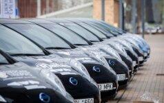 Nissan Leaf elektromobiliai