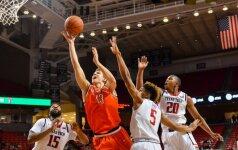 """Trys lietuviai tęsia kovą dėl patekimo į NCAA """"Kovo beprotybę"""""""