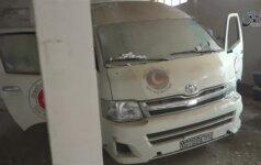 """""""Islamo valstybė"""" paskelbė kadrus iš užimtos Deir ez Zore miesto karo lauko ligoninės"""