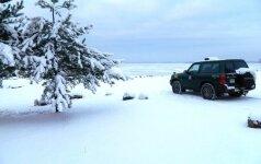 Linksmybes ant Vištyčio ežero porelei sugadino pasieniečiai