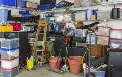 7 dalykai, kuriems ne vieta garaže