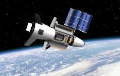 Paslaptingasis karinių pajėgų lėktuvas X-37B artėja prie rekordo