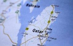 Iranas siekia stipresnių ryšių su izoliuotu Kataru