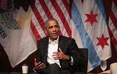 Eksprezidento Baracko Obamos vieša kalba