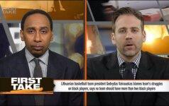 ESPN žurnalistai sumaišė G. Vainauską su žemėmis ir išvadino idiotu