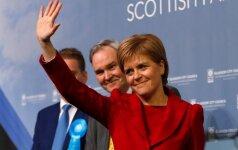 Škotijos parlamentarai pasisakė už referendumą dėl nepriklausomybės