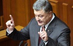 P. Porošenka: Ukrainoje nėra vietos antisemitizmui
