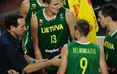 Treneris – užsienietis: gal M. Krzyzewskis sutiktų treniruoti Lietuvos rinktinę?