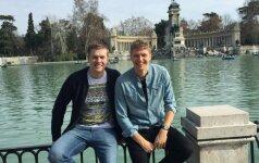 M. Kuzminską aplankęs brolis: jo vieta – elitinėje Eurolygos komandoje