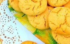Skanieji medaus sausainiai