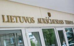 Prezidentė pasiūlė Seimui atleisti Aukščiausiojo Teismo teisėją