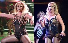 UPS! Ji ir vėl tai padarė... Britney Spears šokiravo gerbėjus