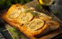 Kaip iškepti tobulai skanią žuvį