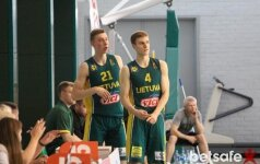Lietuvos jaunimo vaikinų krepšinio rinktinė pralaimėjo prancūzams