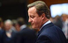 D. Cameronas žada skirti daugiau pinigų kovai prieš neapykantos pakurstytus išpuolius