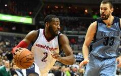 """NBA naktis: """"Wizards"""" pergalių namų arenoje serija – ilgiausia per 28-erius metus"""