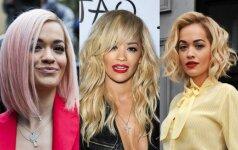 Kaip trumpos šukuosenos keičia garsias moteris LAIKAS KEISTIS!