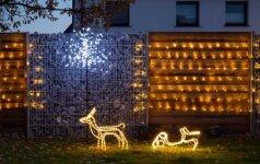 PRIEŠ ir PO: kaip lauko terasą paversti jaukia ir kalėdiška