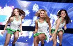 """""""Žalgirio"""" šokėjos pradeda kovą dėl Eurolygos finalo ketverto"""