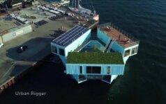 Jūriniai konteineriai Kopenhagoje virto būstu studentais