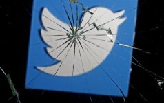 Twitter logotipas