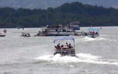 Kolumbijoje nuskendo laivas