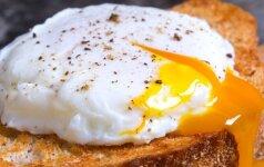 Elegantiškas pyragėlis su kiaušiniu - savaitgalio pusryčiams