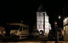 Smūgis Prancūzijai: išpuolį bažnyčioje buvo galima numatyti