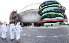 Kataras ruošiasi 2022 metų pasaulio futbolo čempionatui
