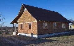 Šiaudiniai namai: statyba iš medžiagų, kurios guli po kojomis