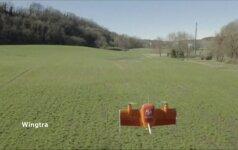 Šveicarų bepilotis nusileidžia kaip sraigtasparnis, o skrenda kaip lėktuvas