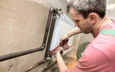 Ką būtina žinoti keičiant radiatorių?