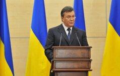 Ukraina konfiskavo 1,4 mlrd. dolerių iš Janukovyčiaus režimo pareigūnų sąskaitų