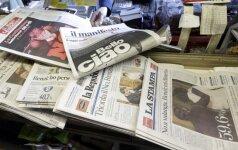 Referendumo Italijoje rezultatai investuotojų neišgąsdino