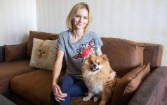 Pedagogė Evelina parodė, kaip auklėja savo šunį: blogo elgesio ignoruoti negalima