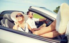 Vasaros pasala: vairuotojai neįvertina elementarių, bet labai svarbių dalykų