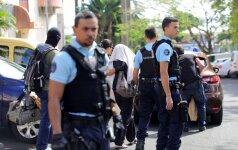 Prancūzijos Reunjono saloje įtariamas džihadistas sužeidė du policininkus