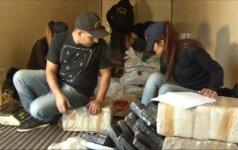 Argentinoje policija rado 5 tonas marihuanos, paslėptas sunkvežimyje