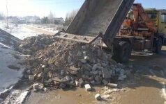 Visai atsitiktinai aplinkosaugininkai užfiksavo didžiulį pažeidimą