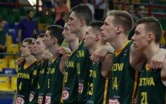 Lietuvos jaunimas vėl barstė solidžią persvarą, bet pergalės nepaleido iš savo rankų