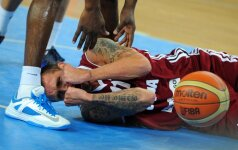 Latvijos krepšininkai antrą kartą įveikė Tunisą