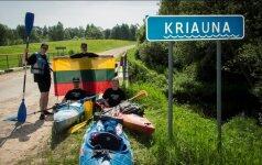 Ilgiausia kelionė baidarėmis Lietuvoje: pirmasis iššūkis – plaukimas prieš srovę