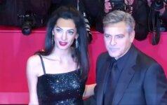Berlyno kino festivalį atidarė G. Clooney