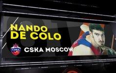 Raudonarmiečio N. De Colo epizodų TOP-5: sumanus vadovavimas aikštelėje ir drausminga gynyba