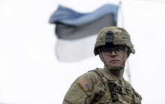 Estija perspėja dėl galimų provokacijų prieš NATO karius