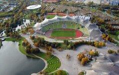 Lanksčios struktūros Olimpiniame Miuncheno stadione